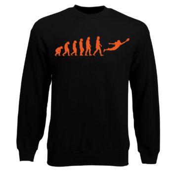 Herren Sweatshirt - Football Evolution