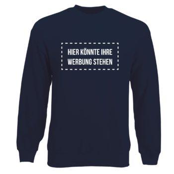 Herren Sweatshirt - Hier könnte Ihre Werbung stehen