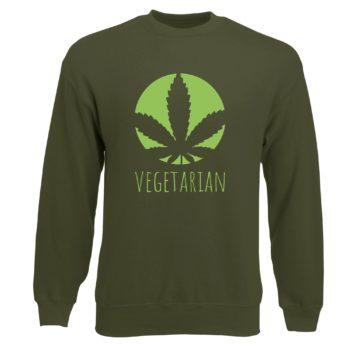 Herren Sweatshirt - Vegetarian
