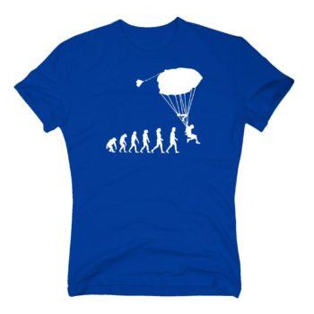 Herren T-Shirt - Evolution Fallschirm