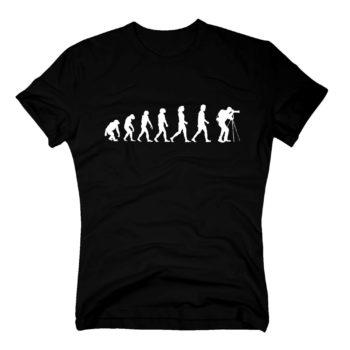 Herren T-Shirt - Evolution Fotograf