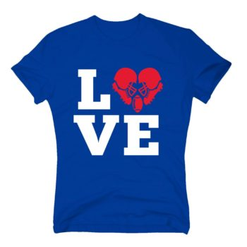 Herren T-Shirt - Love Football