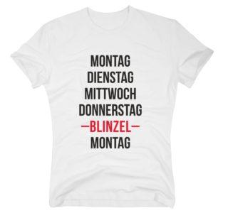 Herren T-Shirt - Wochenende