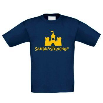 Kinder T-Shirt - Sandkastenchef